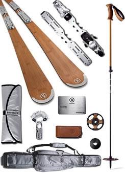 Bogner bamboo ski